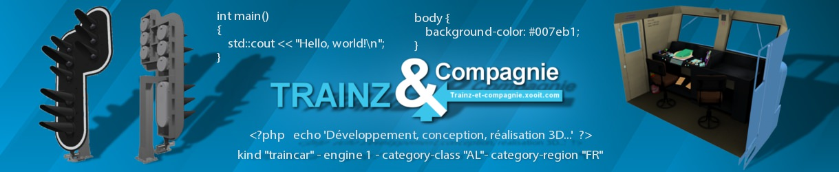 Trainz & Compagnie :: {Hello} World