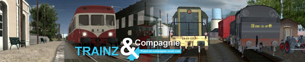 Trainz & Compagnie :: Map Île du Goulet : un essai de post processing