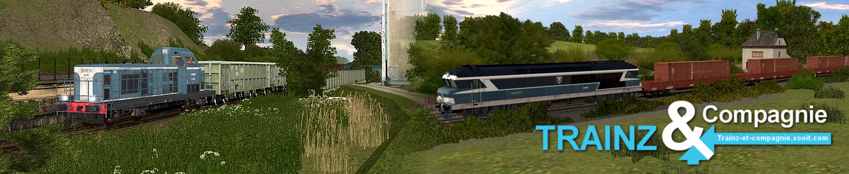 Trainz & Compagnie :: Le point sur ma map